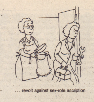 revolt against sex-role ascription